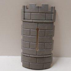 Playmobil: PLAYMOBIL, PARED CURVA CASTILLO MEDIEVAL MURO PIEDRA SURCO PIEZA SECCIÓN. Lote 156996216