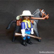 Playmobil: PLAYMOBIL FIGURAS, SOLDADO BÚFALO, CABALLERÍA DE LA UNIÓN WESTER OESTE. Lote 158172142