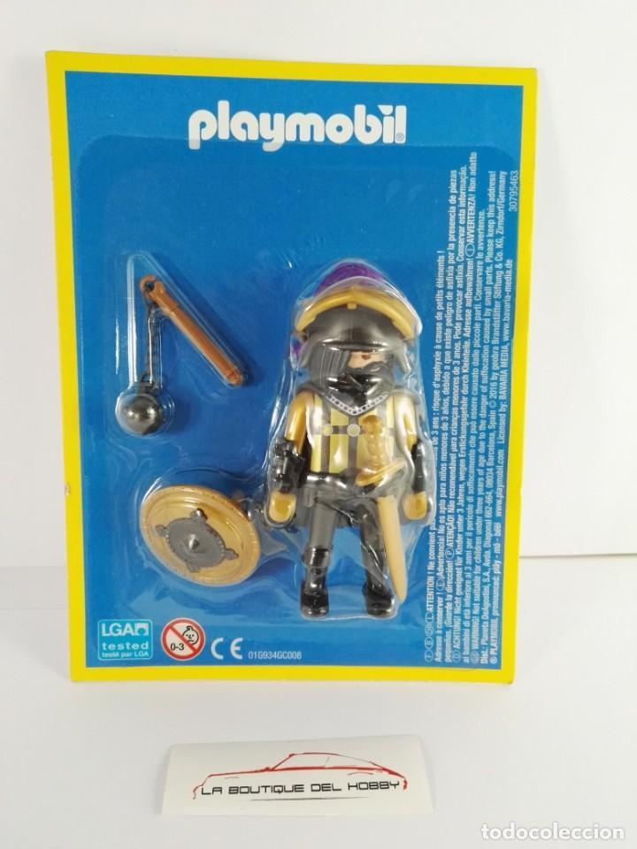 FIGURA GUERRERO ASALTANDO EL CASTILLO PLAYMOBIL ALTAYA (Juguetes - Playmobil)