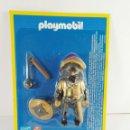 Playmobil: FIGURA GUERRERO ASALTANDO EL CASTILLO PLAYMOBIL ALTAYA. Lote 165970321