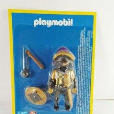 Playmobil: FIGURA GUERRERO ASALTANDO EL CASTILLO PLAYMOBIL ALTAYA. Lote 171615907