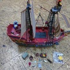 Playmobil: GRAN BARCO PIRATA PLAYMOBIL, 3940, 8 CAÑONES, LIBRE. Lote 158315210