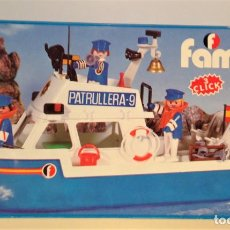 Playmobil: FAMOBIL PLAYMOBIL 3539 PATRULLERA. NUEVA A ESTRENAR.. Lote 158557354