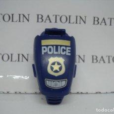 Playmobil: PLAYMOBIL CARENADO QUAD MOTO DE POLICÍA. Lote 158596370