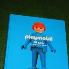 Playmobil: PLAYMOBIL. 40 AÑOS DE RAZONES PARA AMARLOS. DE DOROTHEE CHARLES, LUNWERG 2016. Lote 159064466