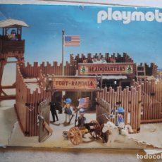 Playmobil: FORT RANDALL PLAYMOBIL, 3419. Lote 138754546