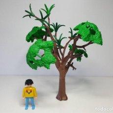 Playmobil: GRAN ARBOL PLAYMOBIL BOSQUE TRONCO VEGETACION JUNGLA MEDIEVAL . Lote 159706034