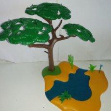 Playmobil: PLAYMOBIL MEDIEVAL ARBOL CON TERRENO, SABANA, ZOO, SELVA. Lote 160323510