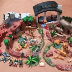 Playmobil: ZOO PLAYMOBIL REF. 4850 INCOMPLETO Y CON EXTRAS. Lote 160368310