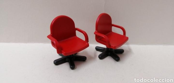 playmobil, 2 sillas oficina ruedas asiento casa - Kaufen Playmobil ...