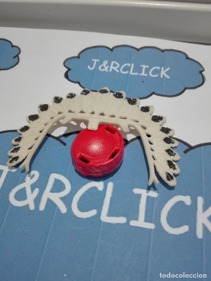 PLAYMOBIL SOMBRERO PLUMAS INDIO OESTE (Juguetes - Playmobil)