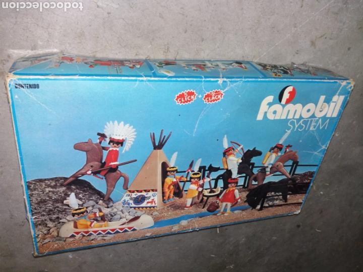 FAMOBIL 3406+FORT RANDALL+OESTE EN CAJA ORIGINAL (Juguetes - Playmobil)