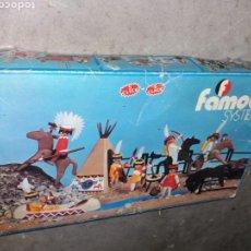 Playmobil: FAMOBIL 3406+FORT RANDALL+OESTE EN CAJA ORIGINAL. Lote 160606102