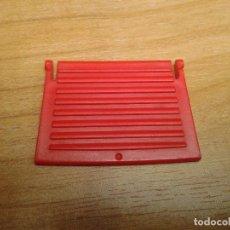 Playmobil: PLAYMOBIL -- TAPA PARA VISAGRA -- PUERTA -- SECCIÓN -- COMPONENTE -- ROJO. Lote 160620078