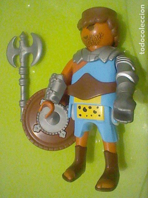 P Comprar Escudo Romano Playmobil Hacha Barba Gladiador 29EIDH