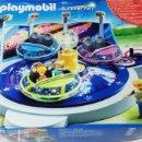 Playmobil: PLAYMOBIL 5554 CARRUSEL CON PLATILLOS VOLANTES CIRCO PARQUE DE ATRACCIONES (ZCETA). Lote 160753374