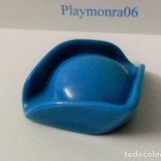 Playmobil: PLAYMOBIL C059 GORRO SOMBRERO TRICORNIO AZUL. Lote 161094634