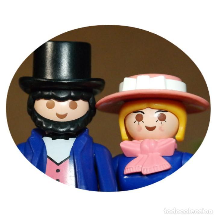 PLAYMOBIL VICTORIANO SR. Y SRA. LICHFIELD DUO CUSTOM (Juguetes - Playmobil)