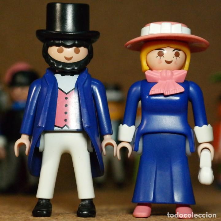 Playmobil: Playmobil Victoriano Sr. Y Sra. Lichfield Duo Custom - Foto 2 - 161102098