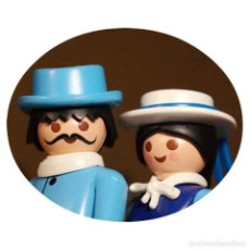 Playmobil: PLAYMOBIL VICTORIANO SR. HAYES Y SRTA KIRKE DUO CUSTOM. Lote 161102730