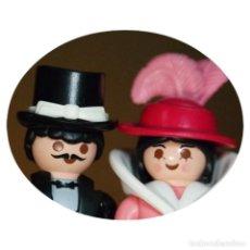 Playmobil: PLAYMOBIL VICTORIANO SR. ANDREWS Y SRA BECK DUO CUSTOM. Lote 161103790