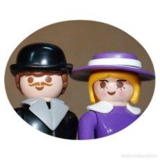 Playmobil: PLAYMOBIL VICTORIANO SR. Y SRA EDELMAN DUO CUSTOM. Lote 161104038
