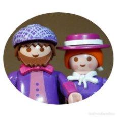 Playmobil: PLAYMOBIL VICTORIANO WILLIAM Y EMMA HOGAN DUO CUSTOM. Lote 161104298