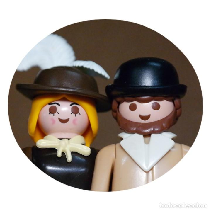 PLAYMOBIL SR. Y SRA HOOPER DUO CUSTOM VICTORIANO (Juguetes - Playmobil)
