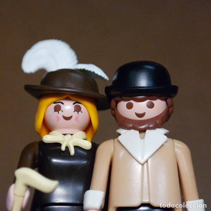 Playmobil: Playmobil Sr. Y Sra Hooper Duo Custom Victoriano - Foto 2 - 176145325