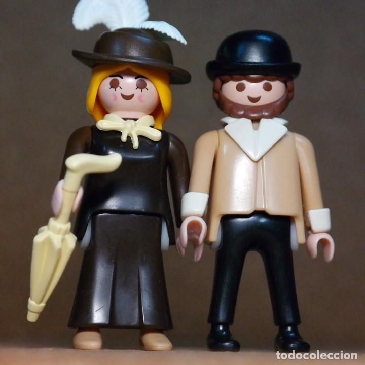 Playmobil: Playmobil Sr. Y Sra Hooper Duo Custom Victoriano - Foto 3 - 176145325