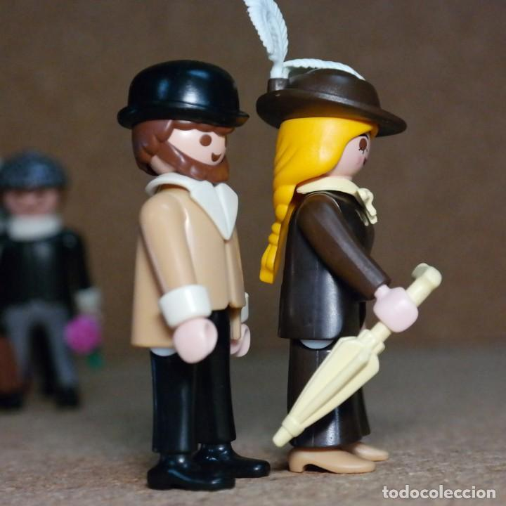 Playmobil: Playmobil Sr. Y Sra Hooper Duo Custom Victoriano - Foto 4 - 176145325