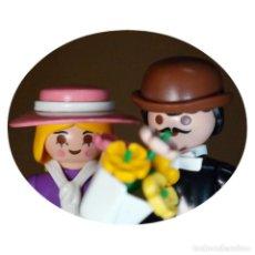 Playmobil: PLAYMOBIL VICTORIANO BLIGH Y CHRISTIAN DUO CUSTOM. Lote 161105870