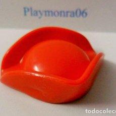 Playmobil: PLAYMOBIL C059 GORRO SOMBRERO TRICORNIO ROJO. Lote 161479766