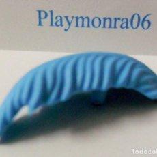Playmobil: PLAYMOBIL C060 PLUMA PARA SOMBRERO DE ALA O PIRATA AZUL. Lote 161484866