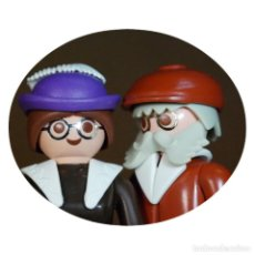 Playmobil: PLAYMOBIL VICTORIANO JAY Y LONNELLE HART DUO CUSTOM . Lote 161560870