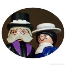Playmobil: PLAYMOBIL SR. Y SRA WEBB DUO CUSTOM VICTORIANO. Lote 161561062
