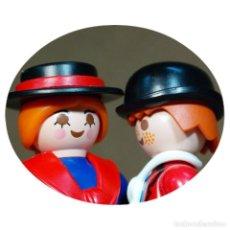 Playmobil: PLAYMOBIL VICTORIANO ELISHA Y ATHOS DUO CUSTOM . Lote 161604734
