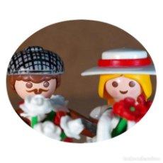 Playmobil: PLAYMOBIL VICTORIANO HERBERT Y HILLEARY DUO CUSTOM . Lote 161604754