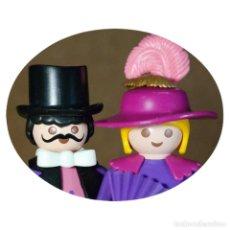 Playmobil: PLAYMOBIL VICTORIANO SRA Y SR MEGGERS DUO CUSTOM . Lote 161604838