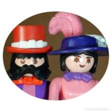 Playmobil: PLAYMOBIL VICTORIANO SRA Y SR CHISMAN DUO CUSTOM . Lote 161604862