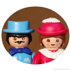 Playmobil: PLAYMOBIL VICTORIANO SRA Y SR CAFFREY DUO CUSTOM . Lote 161604874