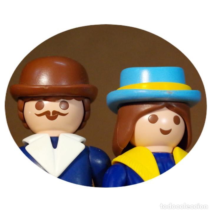 PLAYMOBIL VICTORIANO SRA Y SR LOTHERS DUO CUSTOM (Juguetes - Playmobil)