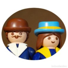 Playmobil: PLAYMOBIL VICTORIANO SRA Y SR LOTHERS DUO CUSTOM . Lote 161604902