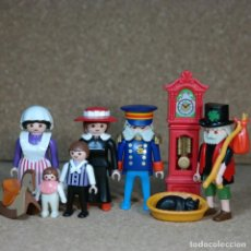 Playmobil: PLAYMOBIL FAMILIA BROWNLOW, VICTORIANO MANSION 5300 CUSTOM. Lote 161605074