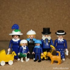 Playmobil: PLAYMOBIL FAMILIA VON GRAFFENRIED, VICTORIANO MANSION 5300 CUSTOM. Lote 161605098