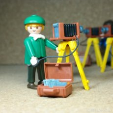 Playmobil: PLAYMOBIL VICTORIANO FOTOGRAFO CUSTOM. Lote 161782786