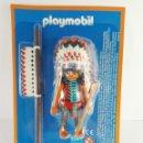 Playmobil: FIGURA JEFE INDIO PLAYMOBIL ALTAYA. Lote 161916273