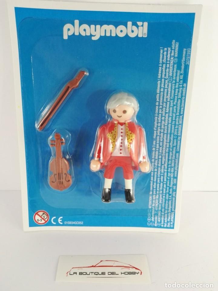 FIGURA WOLFGANG AMADEUS MOZART PLAYMOBIL ALTAYA (Juguetes - Playmobil)
