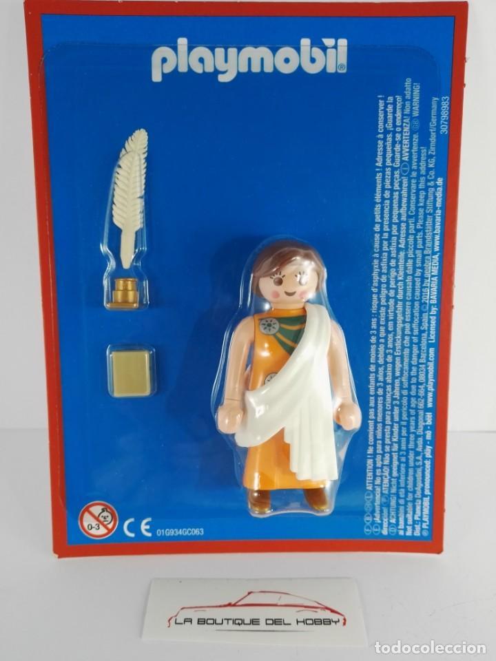 FIGURA ESCRITORA BIBLIOTECA ALEJANDRIA PLAYMOBIL ALTAYA (Juguetes - Playmobil)