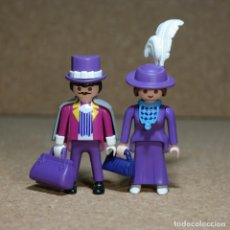 Playmobil: PLAYMOBIL VICTORIANO SR Y SRA FITZALAN DUO CUSTOM. Lote 161853314
